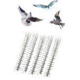 5PCS 50cm Anti Bird Spikes Stainless Steel Pest Strips Pigeons Control Pests Control Deterrent
