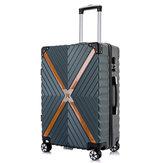 Xmund XD-XL2 cestovní kufr s úhlopříčkou 20 palců / 24 palců ABS 360 ° tichý univerzální kufr na zavazadla