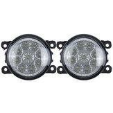 Pair Car Front LED Fog Lights Lamps with H11 Bulbs White For Land Rover Discovery 4 Range Rover Sport L322