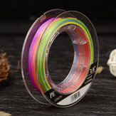 MAX-9 9 Strands Braided Fishing Line 100m Multi Color Super Strong Multifilament PE Braid Line-1.0/2.0/3.0/4.0/5.0/6.0/7.0/8.0