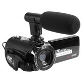 30MP 2.7K HD WIFI Touch Screen Digital Camera DV Camcorder Night Version with Remote Control Microphone