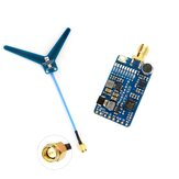 MATEK Systems VTX-1G3-9 1.2Ghz 1.3Ghz 9CH International INTL Version FPV Video Transmitter for RC Drone Goggles Monitor Airplane Long Range
