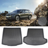 5/7 Seater Waterproof Anti Scratch Chemical Resistant Rear Car Trunk Mat Cargo Liner For SKODA Kodiaq 2017 2018 2019