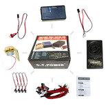 GT POWEGT POWER Контейнеровоз с подсветкой и системой голосовой вибрации для грузовиков RC Авто