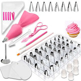 83pcs DIY Cake Decorating Set Icing Piping Nozzles Tips Baking Mold Decorating Tools