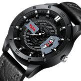 VAVAVOOMVA-201Wodoodpornykwarcowy zegarek z datownikiem 3ATM