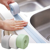 Schmal / breit Typ Wasserdichte Küche Badezimmer Toilette Waschbecken Wand Ecke PVC Dichtungsstreifen Selbstkante