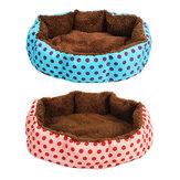 Kat Hond Pet Bed Soft Nest Puppy Kussen Warm Kennel Huis Mat Wasbare Deken