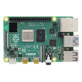 Carte mère Raspberry Pi 4 Model B Carte mère 1 Go / 2 Go / 4 Go avec carte Broadcom BCM2711 quad-core Cortex-A72 (ARM v8) à 1,5 GHz