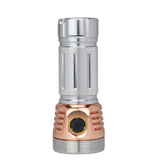 Astrolux MF01 Mini Copper Aluminum 7* XP-L HI/ 5500LM Type-C Rechargeable Campact EDC Flashlight 26650 21700 18650