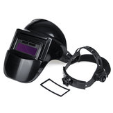 Solar Powered Auto Darkening Welding Helmet Mask Adjustable Shade Welder Cap