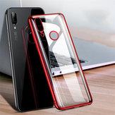 Bakeey Lüks Darbeye Dayanıklı Elac-kaplama Şeffaf Sert PC Koruyucu Kılıf Xiaomi Redmi Not 7/Redmi Not 7 Pro