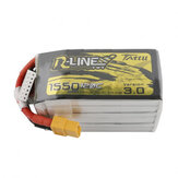 Tattu R-Line Version 3.0 22.2V 1550mAh 120C 6S Lipo Battery XT60 Plug for iFlight Nazgul5 227mm 6S 5 Inch FPV Racing Drone
