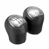 5 Speed PU Leather Gear Shift Knob For Renault Megane Clio II Twingo Kangoo