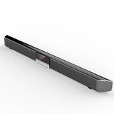 40W bluetooth Soundbar Computer Speaker With DSP Clock Sound Effect Regulation Dual Built-in Subwoofers Display Screen