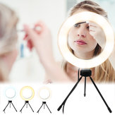 Photography LED Selfie Ring Light 260MM Dimmable Camera Phon