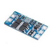 2S 10A 7.4V 18650 Lithium Battery Protection Board 8.4V Balanced Function Overcharged Protection
