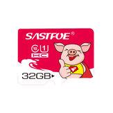 SASTFOE Carte mémoire Année du cochon en édition limitée U1 32GB TF