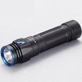 SKILHUNT® M200 XP-L 1100LM Yüksek Güçlü Çift Grup Modu USB Şarj Edilebilir EDC LED El Feneri IPX8 18650 El Feneri
