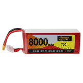 ZOP Power 22.2V 8000mAh 75C 6S Lipo Батарея XT60 Разъем для RC Дрон