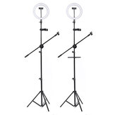 10 Inch LED Dimmable Video Ring Light Tripod Stand with Phone Holder bluetooth Selfie Shutter for Youtube Tik Tok Makeup Live Streaming