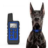 Halsband voor hondentraining 500 m Afstandsbediening USB Oplaadbaar Waterdicht Schok Elektrische halsband Anti-blafapparaat
