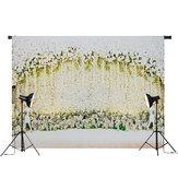 5x3FT 7x5FT Blütenblätter und Hirsche Hochzeit Fotografie Hintergrund Studio Prop