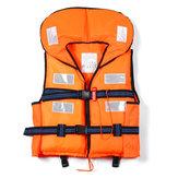 Natation Pêche Gilet de sauvetage Sports nautiques Gilet d'aide à la flottabilité Gilet d'aide aux adultes Veste Vêtements de pêche avec sifflet