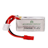 Orlandoo-Hunter 7.4V 260mAh 30C 2S Lipo Battery for OH32A02 OH32A03 OH35A01 1/32 1/35 RC Car