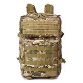 45L 900D étanche tactique camouflage sac à dos voyage en plein air chasse école sac d'école sac à bandoulière