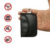 Clé de voiture cas de bloqueur Faraday Cage Fob Pouch Keyless PU sac de cuir 10.5 X 6.5CM