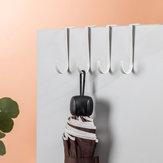 Jordan & Judy 2 PCS Suporte para porta de cozinha doméstica cabide Gabinete de gaveta com ganchos pendurados Toalha