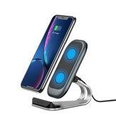 KUULAA 10W 7.5W 5W Charing Rápido Qi Suporte do telefone da estação de doca do carregador sem fio para iPhone 8Plus XS 11 Pro Huawei P30 Pro Mate 30 5G Xiaomi Mi9 9Pro 5G