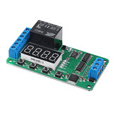 Dual Channel 12V 5A Digital Tube DPDT Multi-function Time Delay Relay Timer Switch Module