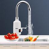 Torneira quente elétrica do torneira da indicação digital sob a água com proteção do escapamento