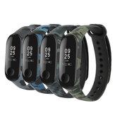 Bakeey TPU Impermeable Reloj de camuflaje Banda para Xiaomi mi Band 3/4 Reloj inteligente No original