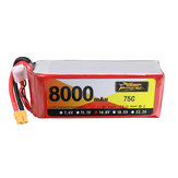 ZOP Power 14.8V 8000mAh 75C 4S Lipo Батарея XT60 Разъем для RC Авто Квадрокоптер