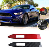 Carbon Interieur Armaturenbrett Panel Cover Trim Fit für Ford Mustang 2015-2019