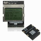 CPU-geheugen Mini LCD-scherm voor Raspberry Pi B / B+