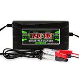 12V 10A 1210D LCD Smart Fast Batterie Chargeur 110V-240V Pour Voiture Moto Gel De Stockage Au Plomb-acide Batteries