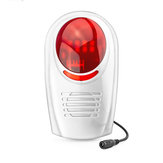 Bakeey inalámbrico Impermeable al aire libre sirena estroboscópica para GSM sistema de alarma de seguridad para el hogar inteligente