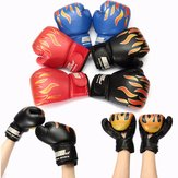 1 Pair Muay Thai Boxing Gloves Sparring Fight Training Coaching Fitness Gloves Child Kids Boxing Gloves