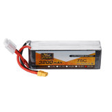 ZOP Power 22.2V 3200MAH 75C 6S Lipo Battery XT60 Plug for RC Model