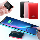 Bakeey 20000mAh Qi Chargeur sans fil LED Affichage Mini Power Bank Charge rapide pour iPhone Android
