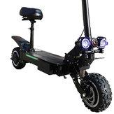 ZAPCOOL T108 Scooter elétrico de motor duplo 29Ah 60V 3600W 11 polegadas 85km / h Velocidade máxima 70-90KM Quilometragem Max. Carregar 250 kg Óleo plugue da UE de scooter dobrável de freio