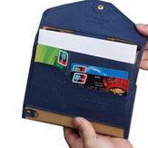 Porta carte di credito pieghevoli multifunzione Porta passaporto da viaggio Portafogli documenti Portadocumenti per borse di licenza