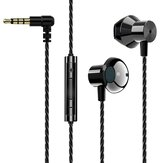 Bakeey F16 Metal Stereo Bass Earphone Gaming Music Earbuds For Laptop PC