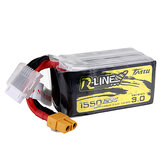 TATTU R-Line V3.0 18.5V 1550mAh 120C 5S Lipo Battery XT60 Plug for Eachine Wizard TS215 Drone