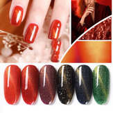 3D Red Magnet Cat Eyes Gel Nail Glue Verntion 7ml Kit New Art UV LED Polish Primer Soak Gel Lacquer Colored Cat Eye Gel Gel Nail Art