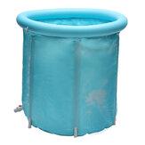 30 Inç Taşınabilir Katlanır Şişme Küvet Outdoor Kampçılık Seyahat PVC Küvet Banyo Varil